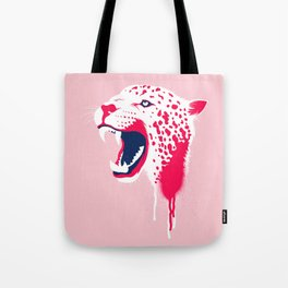 Jaguar Head Tote Bag