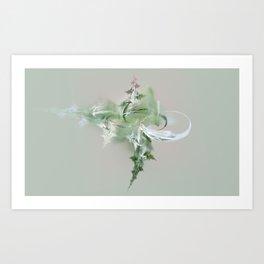 green spirit Art Print