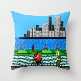 Ask Gary Vee Show - NES Punch Out Training Throw Pillow