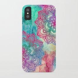 Round & Round the Rainbow iPhone Case