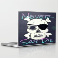 goonies Laptop & iPad Skins featuring Goonies Skull by Just Bailey Designs .com