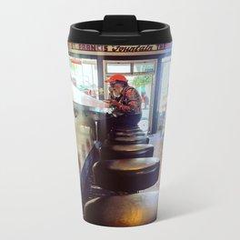 Diner hipster Metal Travel Mug