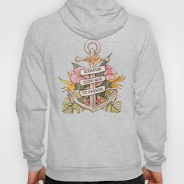 Remove everything that holds you down Hoody