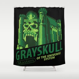 Game of Grayskull Shower Curtain