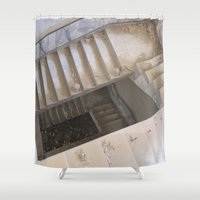 escher Shower Curtains featuring Escher by KMZphoto