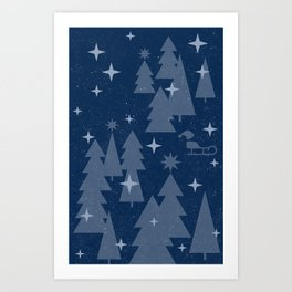 Winter Forest II Art Print