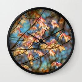 Autumn Colourburst  Wall Clock