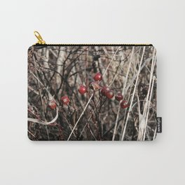 Thorned Berries of Winter Carry-All Pouch