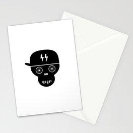 black bike Stationery Cards