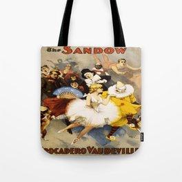 Vintage poster - The Sandow Tote Bag