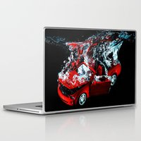mustang Laptop & iPad Skins featuring Mustang by Conor O'Mara