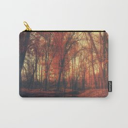 Where are you? Autumn Fall - Autumnal forest Carry-All Pouch