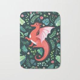 Tropical Dragon Bath Mat