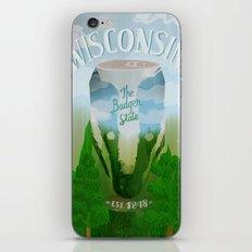 Wisconsin 2 iPhone & iPod Skin