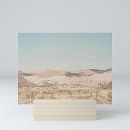 red rock canyon in California ... Mini Art Print