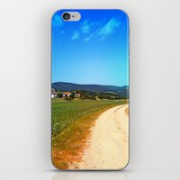 hiking iPhone & iPod Skins featuring Another lonely hiking trail by Patrick Jobst