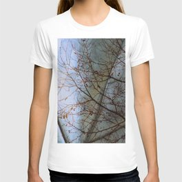 Tree reflection on its leaf T-shirt
