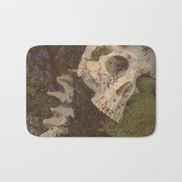 Catacomb Culture - Human Skull in Creek Bath Mat