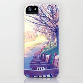 Edinburgh Princes Garden iPhone Case