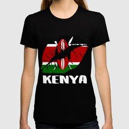 KEN Kenya Kiss Lips Tee T-shirt