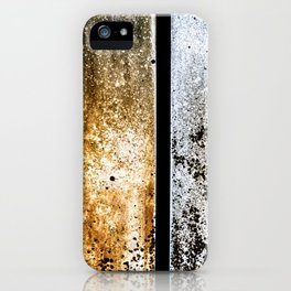 Summer and Winter Mold Abstract iPhone Case