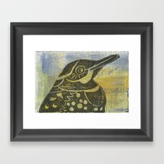 Northern Flicker Framed Art Print