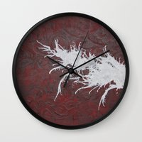 hero Wall Clocks featuring Hero by Maddy Knuth