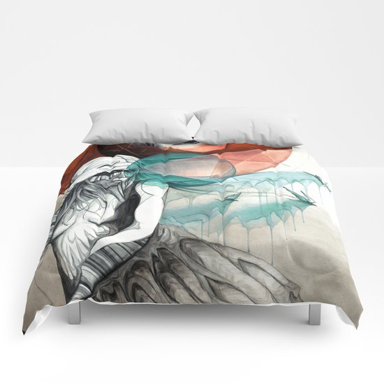 Guiding the Tides Comforters