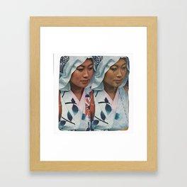 Twin Sister Framed Art Print