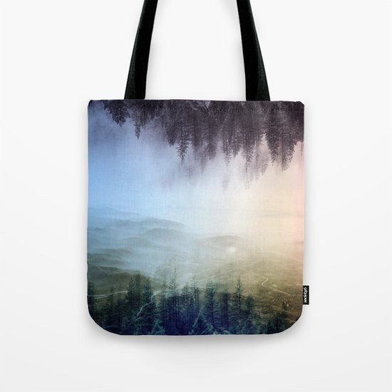 flipped forest Tote Bag