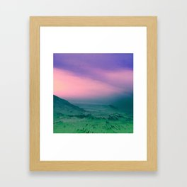 花の専門店. Framed Art Print