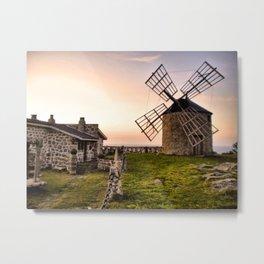 Windmills of Montedor Metal Print