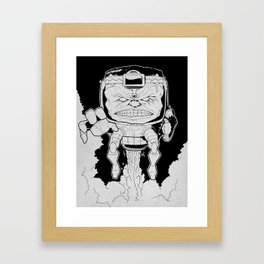 Mental Organism Designed Only for Killing Framed Art Print
