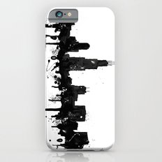 Watercolor Chicago Skyline iPhone 6 Slim Case