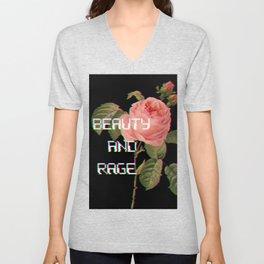 Beauty And Rage Unisex V-Neck