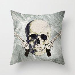SkulBoy Throw Pillow