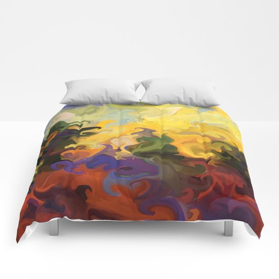 Forest Fire Comforters