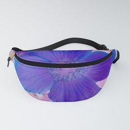 Petals Blue Fanny Pack