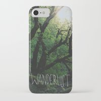wanderlust iPhone & iPod Cases featuring Wanderlust by Leah Flores