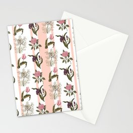 Botanical Stripes Stationery Cards