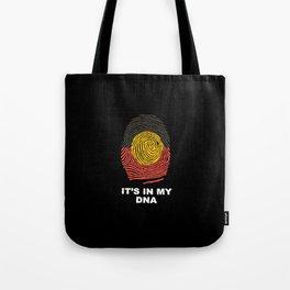 Aboriginal DNA Print Tote Bag