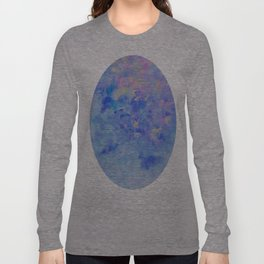 Blue Leaves under a Lavender Sky Long Sleeve T-shirt