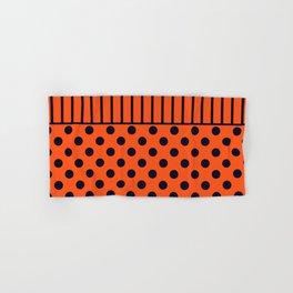 Orange, combo pattern Hand & Bath Towel