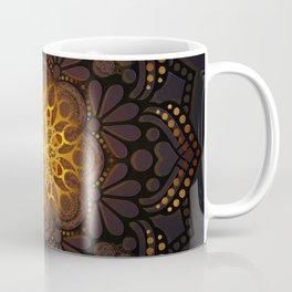 """Warm light Moroccan lantern Mandala"" Coffee Mug"