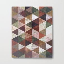 Abstract #829 Metal Print