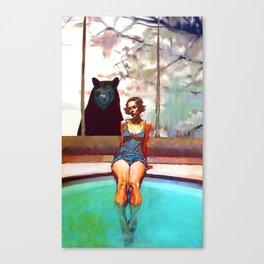 Spa Retreat Canvas Print