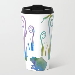 Frog And Insects Travel Mug