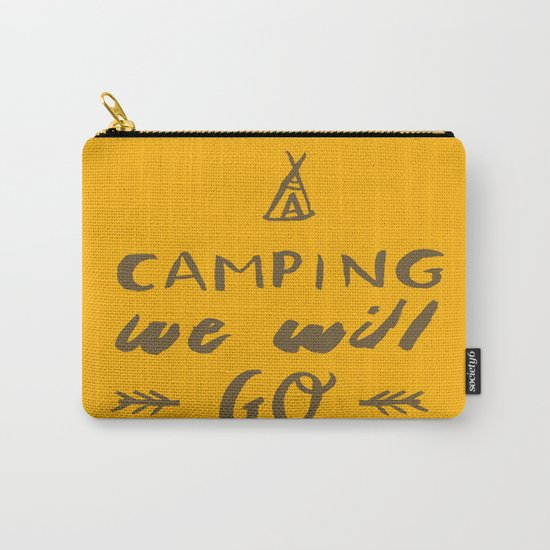 Camping we will go Carry-All Pouch
