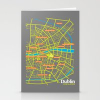 dublin Stationery Cards featuring Dublin by mattholleydesign