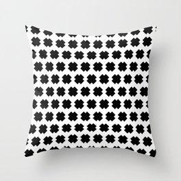 Cross-Stitch Pattern Throw Pillow
